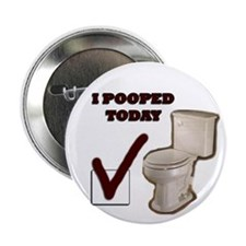"I Pooped Today 2.25"" Button"