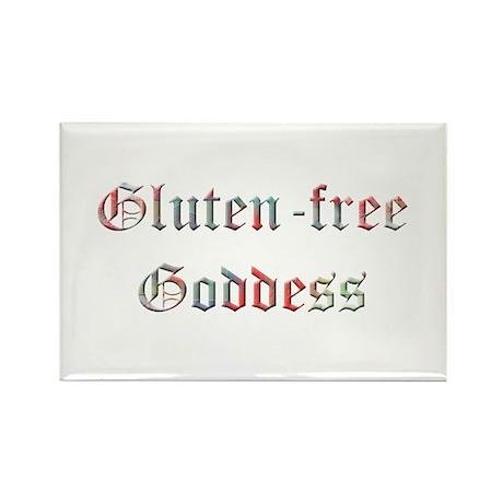 Gluten-Free Goddess Rectangle Magnet