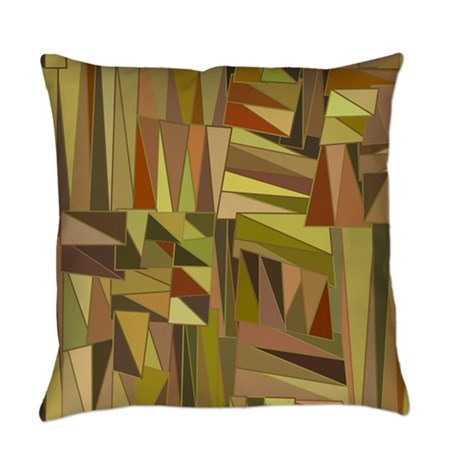 Decorative Earth Tones Everyday Pillow