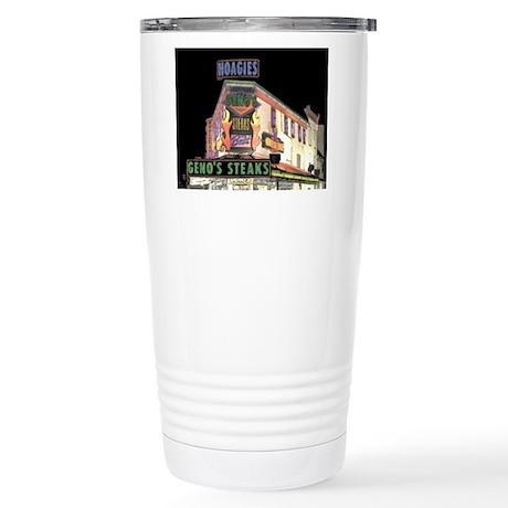 Cheese Steak Stand Stainless Steel Travel Mug