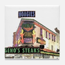 Cheese Steak Stand Tile Coaster