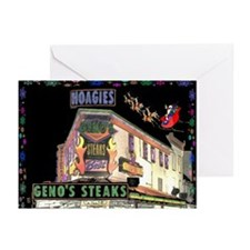 Cheese Steak Christmas Cards (Pk of 10)