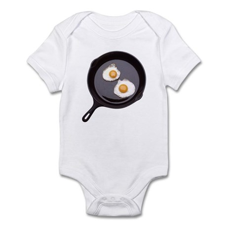 Fried Eggs Infant Bodysuit