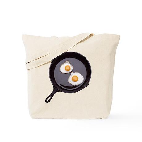 Fried Eggs Tote Bag