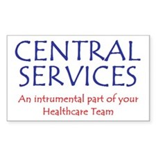 Healthcare Team Rectangle Decal