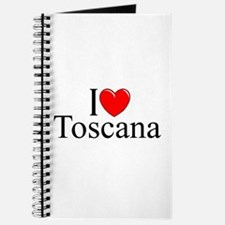 """I Love (Heart) Toscana"" Journal"