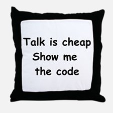 Software Engineer Throw Pillow
