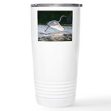 EGRET in SUNLIGHT Travel Mug
