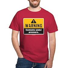 Warning: Contents under press T-Shirt