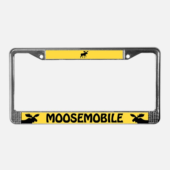 Moosemobile License Plate Frame