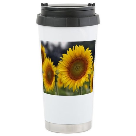 SUNFLOWER 2 Stainless Steel Travel Mug