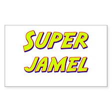 Super jamel Rectangle Decal