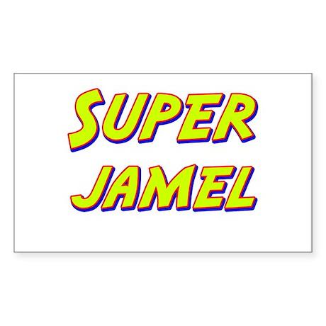 Super jamel Rectangle Sticker