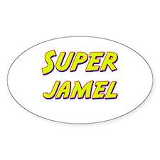 Super jamel Oval Decal