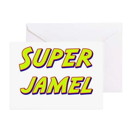Super jamel Greeting Cards (Pk of 10)