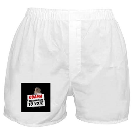 MONKEYS FOR BARACK Boxer Shorts