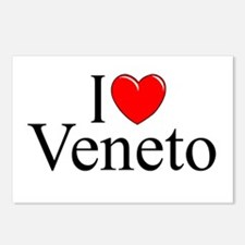 """I Love (Heart) Veneto"" Postcards (Package of 8)"