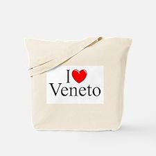 """I Love (Heart) Veneto"" Tote Bag"