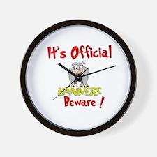 Bankers Beware! Wall Clock