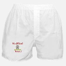 Bankers Beware! Boxer Shorts