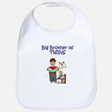 Big Brother of Twins Bib