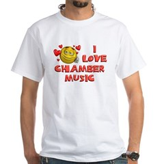 Cute I Love Chamber Music Shirt