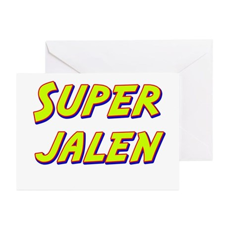 Super jalen Greeting Cards (Pk of 10)