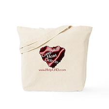 Funny Heart awareness Tote Bag