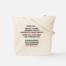 Unique Heart health Tote Bag