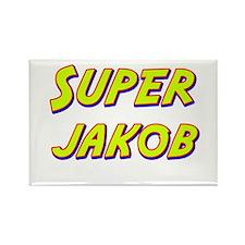 Super jakob Rectangle Magnet (10 pack)