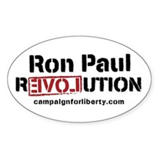 Ron Paul Oval Decal