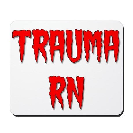 Blood Trauma Mousepad
