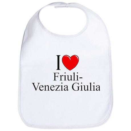 """I Love (Heart) Trentino-Alto Adige/Sudtirol"" Bib"