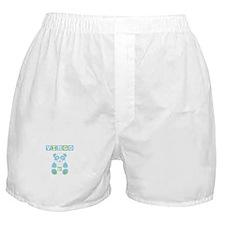 Virgo Bear - Blue Boxer Shorts