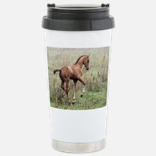 Playful Horse Foal Travel Mug