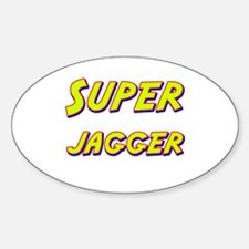 Super jagger Oval Decal