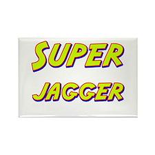 Super jagger Rectangle Magnet