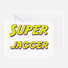 Super jagger Greeting Card