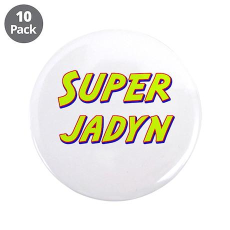 """Super jadyn 3.5"""" Button (10 pack)"""