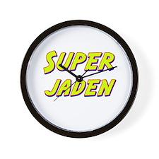 Super jaden Wall Clock