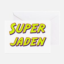 Super jaden Greeting Card
