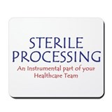 Sterile processing department Mouse Pads