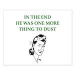 womens divorce joke Small Poster