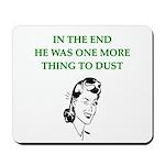 womens divorce joke Mousepad