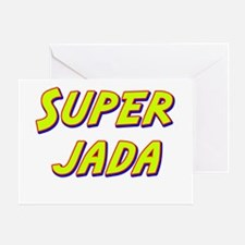 Super jada Greeting Card