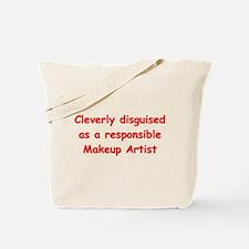 Makeup Artist Tote Bag