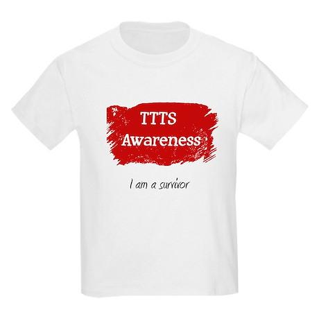 I am a survivor Kids Light T-Shirt