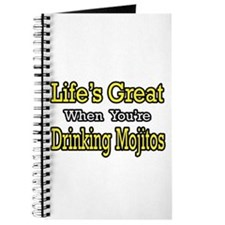 """Life...Drinking Mojitos"" Journal"