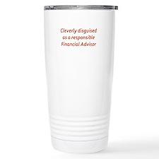Financial Advisor Travel Coffee Mug