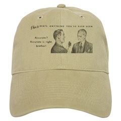 Two Accurate Guys Baseball Cap